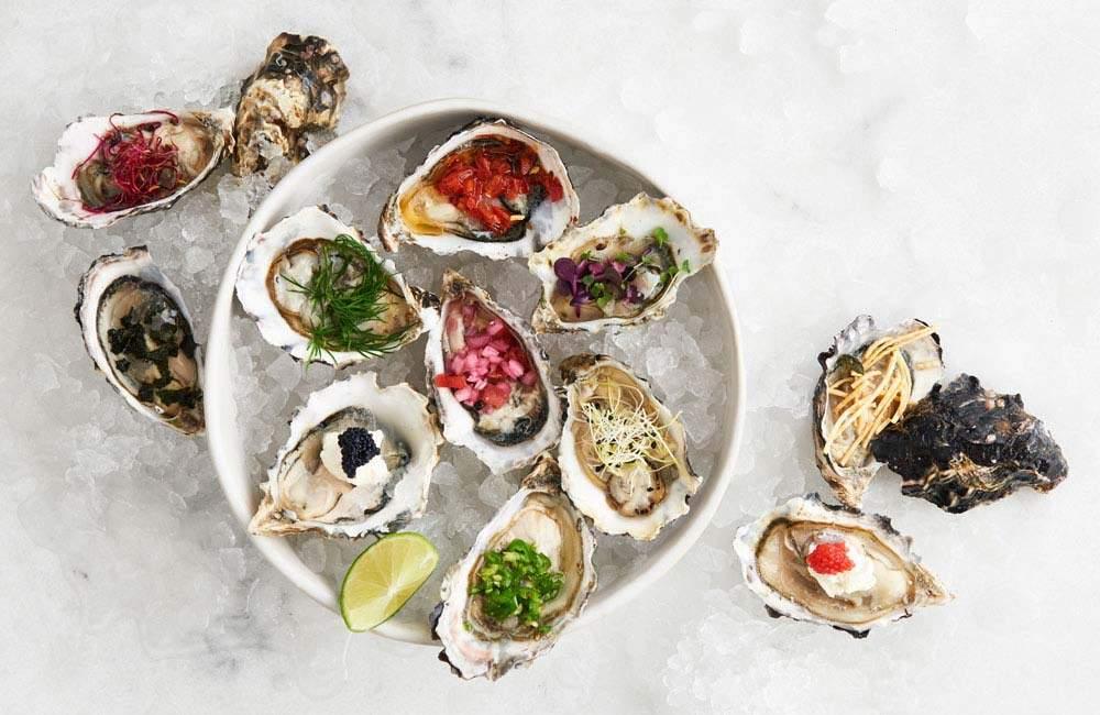 receta con ostras planas