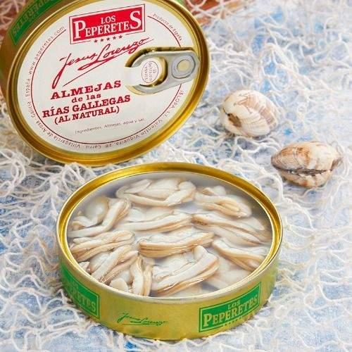 comprar almejas Los Peperetes