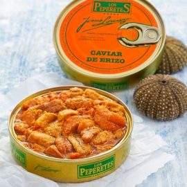 lata de caviar de erizo
