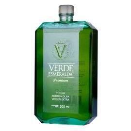 aceite verde esmeralda
